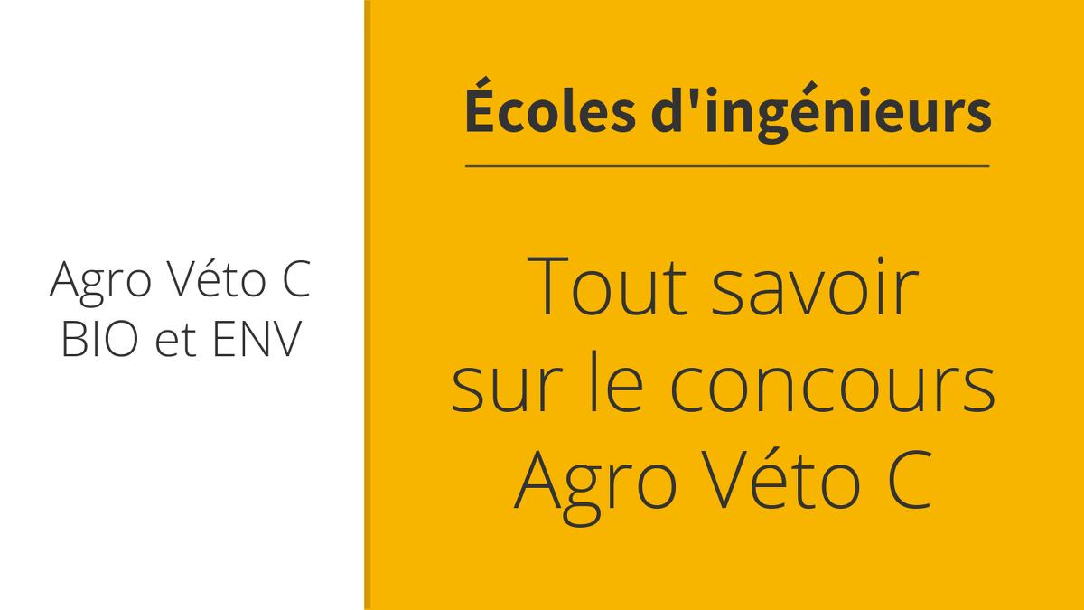 Concours Fonction Publique Categorie C Calendrier.Concours Agro Veto C 2019 Le Guide Complet