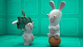 capture d'écran du jeu des lapins crétins