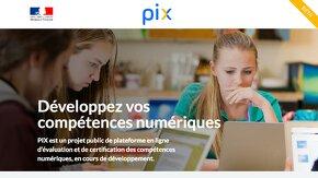 capture d'ecran de la plateforme PIX