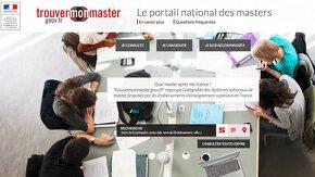 accueil du site trouvermonmaster.com