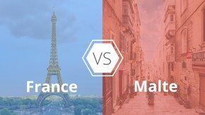 1f00f4a1d1b620 France VS Malte   dans quel pays étudier