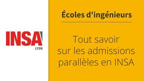 Admissions parallèles à l'INSA : le guide complet !