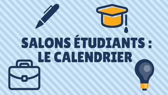 Calendrier des salons tudiants de d cembre 2017 - Calendrier des salons ...