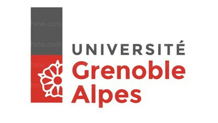 Le logo de l'université Grenoble Alpes