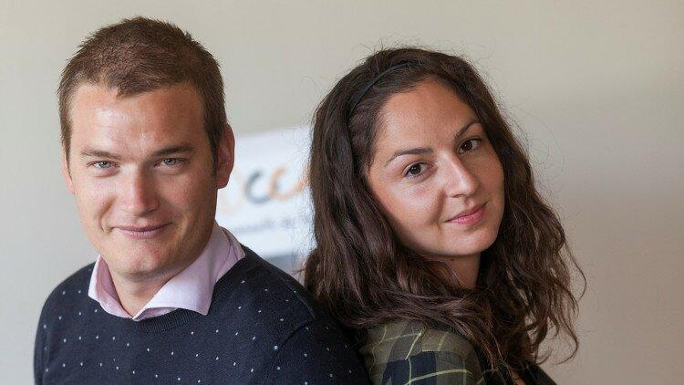 Jérôme Guilmain et Audrey Bouvier de Troccauris
