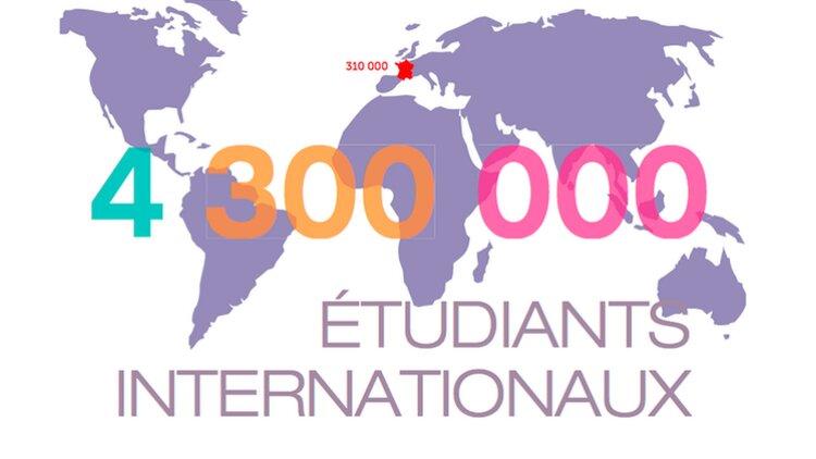 capture d'écran du rapport de Campus France