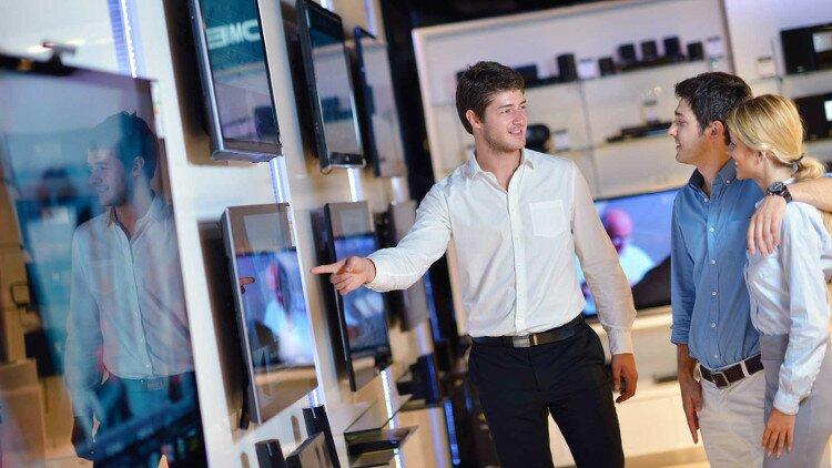 vendeur de télévisions