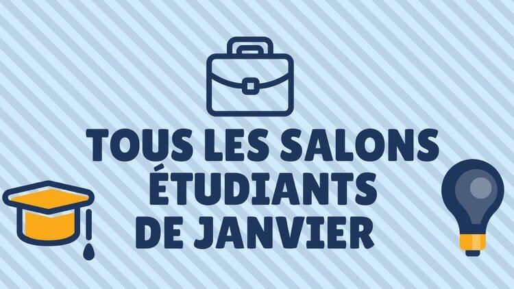 Calendrier des salons tudiants en janvier 2018 toutes les villes - Bac pro cuisine par correspondance ...