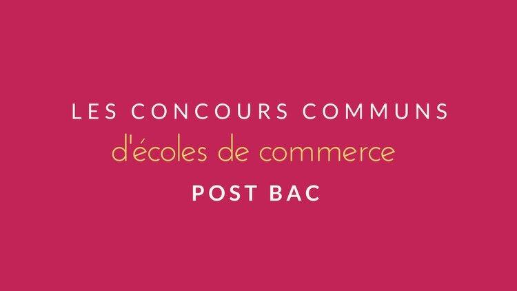 Quelles sont les coles de commerce post bac - Bac pro cuisine par correspondance ...