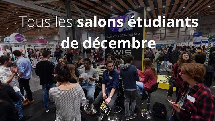 Calendrier des salons tudiants de d cembre 2017 - Bac pro cuisine par correspondance ...