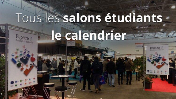 Salons tudiants calendrier et dates des salons 2018 2019 - Bac pro cuisine par correspondance ...