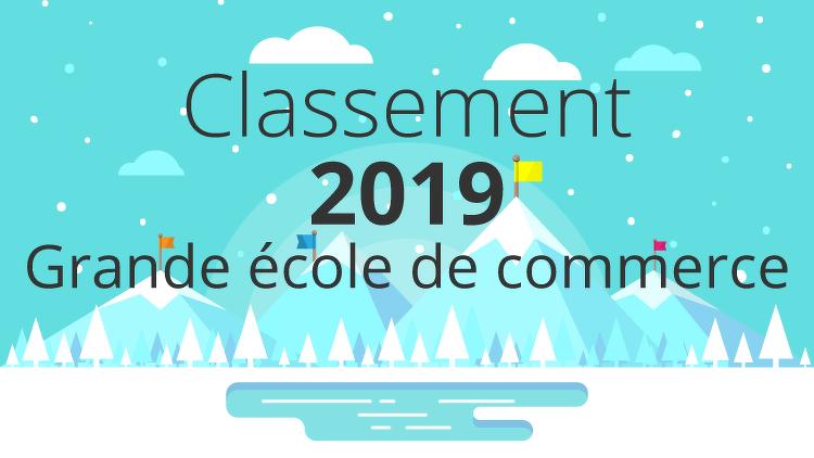 21890660ec58d1 Classement 2019 des grandes écoles de commerce françaises !